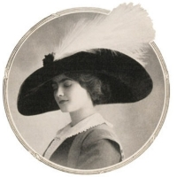 """Gabrielle """"Coco"""" Chanel in her youth"""