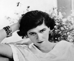 A young Gabrielle Chanel