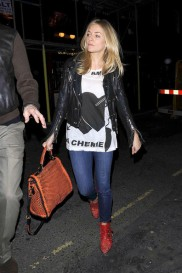 Sienna+Miller+Outerwear+Leather+Jacket+G5Q7yRwdPyDl